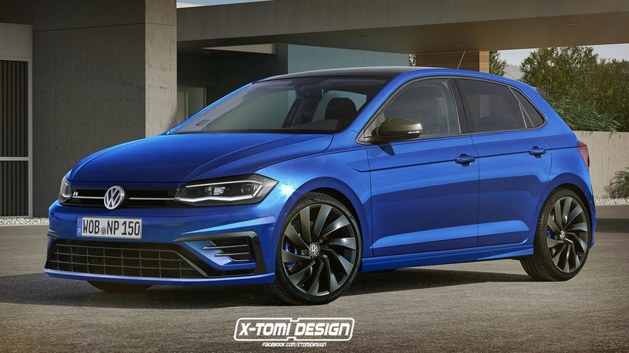 VW is testing 300bhp R version of its new Polo