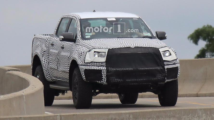 Bu gördüğümüz Ford Ranger Raptor mı?
