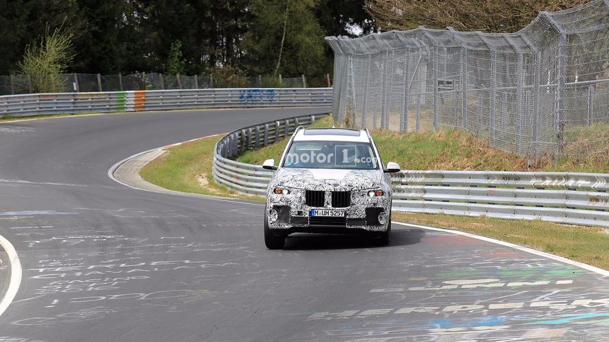BMW X7 fotos espía en Nürburgring