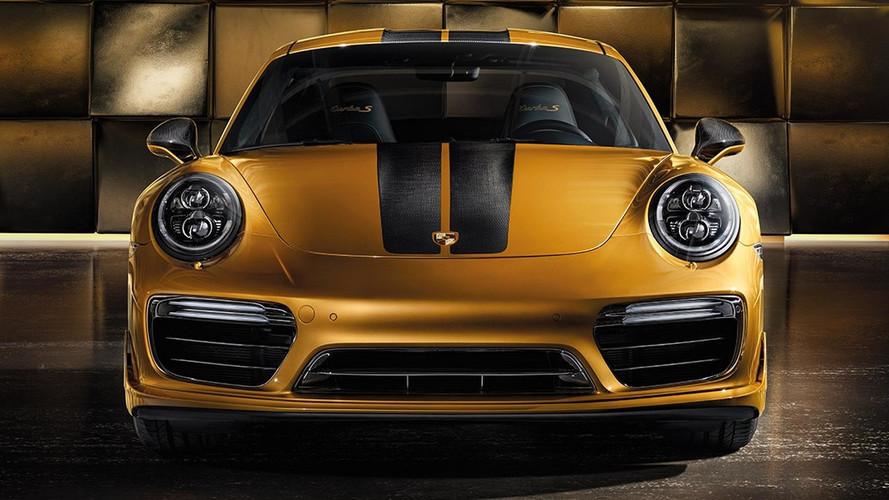 Mindössze 500 darab készül az eddigi legerősebb Porsche 911 Turbo S-ből