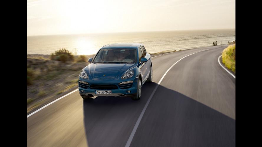 Porsche prepara la Cayenne Diesel per gli USA
