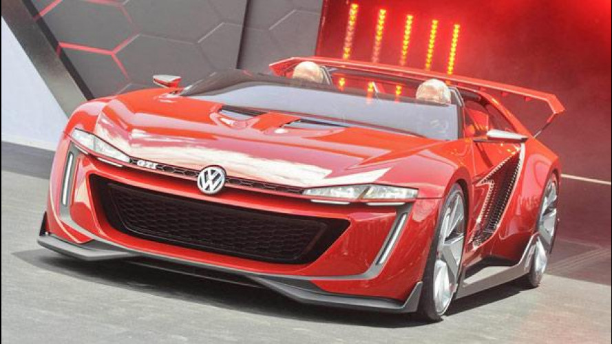 Volkswagen GTI Roadster, dal vivo al Worthersee