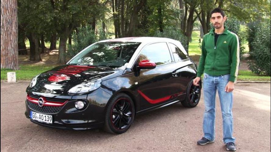 Opel Adam 1.4 87 CV Slam, tanto divertimento e poco spazio