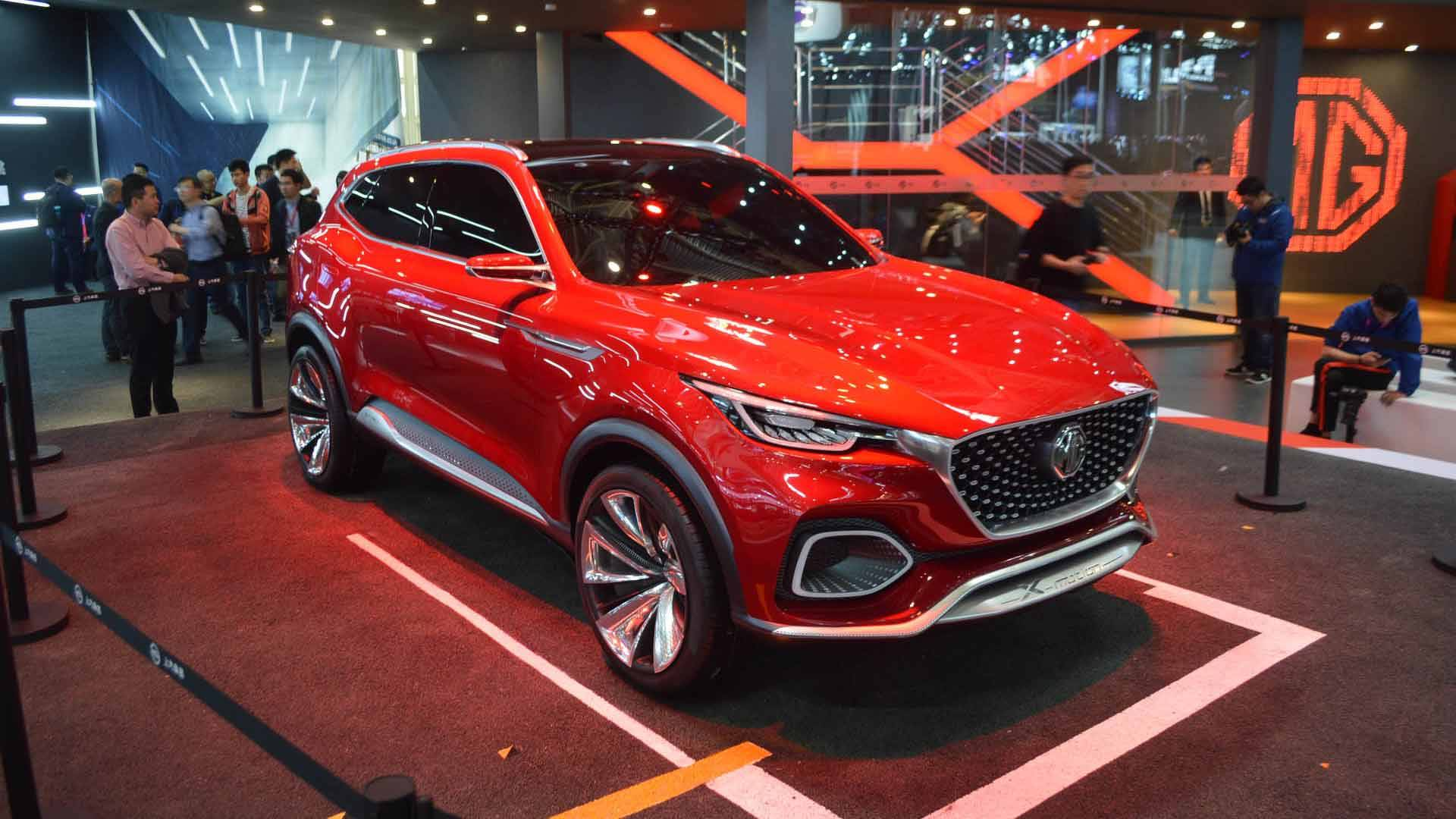 MG X Motion Concept Imagines Sporty SUV In Beijing