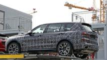 2019 BMW X7 spy photo
