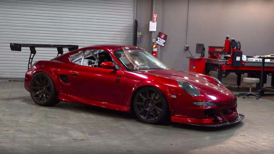 Bisimoto Engineering'e ait Porsche Boxster'a yakından bakın