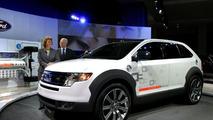 Ford Edge HySeries Drive at Washington Auto Show