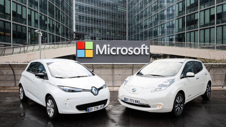 Microsoft Renault-Nissan ile işbirliğine gidiyor