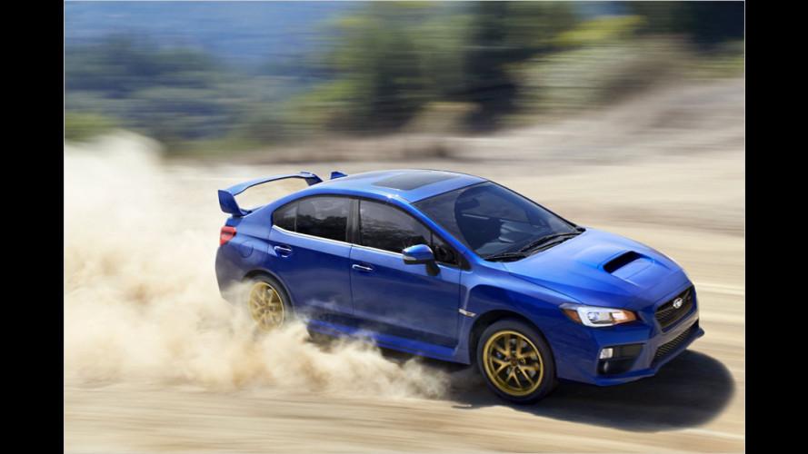 Subaru WRX STI wird billiger