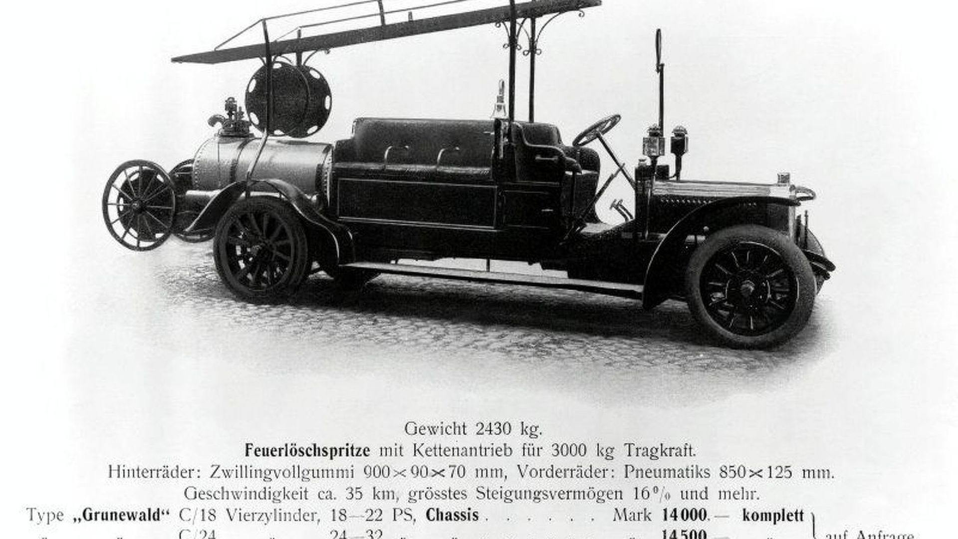1906: World\'s First Gasoline Powered Fire Fighting Pump   Motor1.com ...
