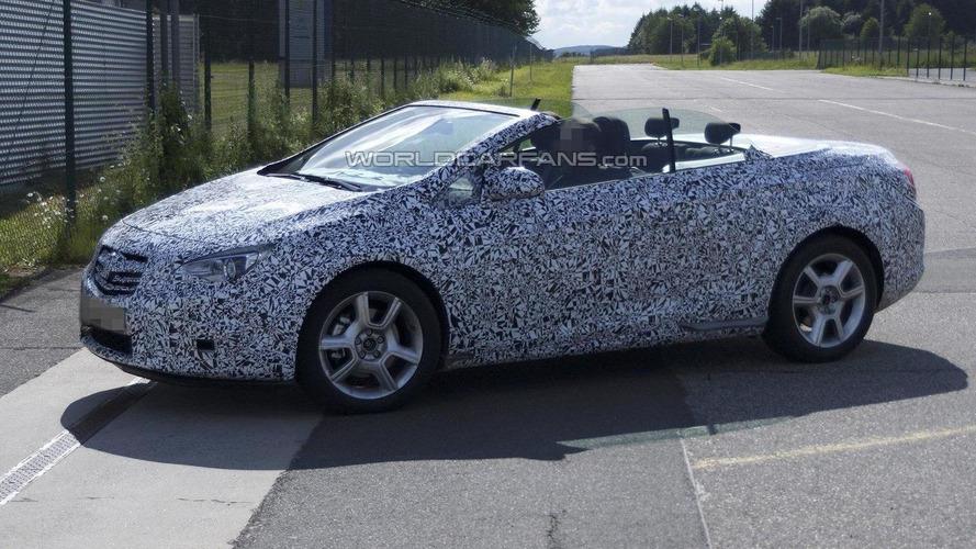 2013 Opel / Vauxhall Astra Cabrio sheds more camo