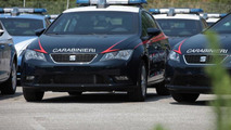 SEAT Leon police cars