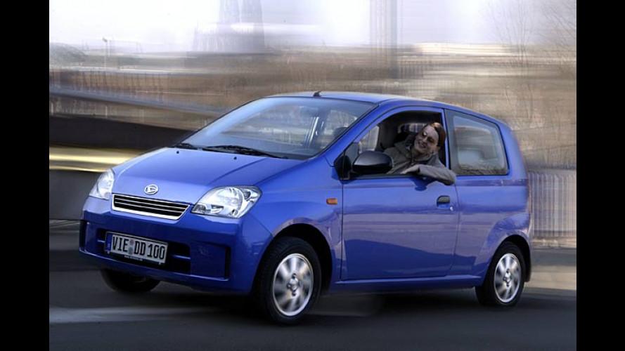 Drei neue Sondermodelle auf Basis des Daihatsu Cuore