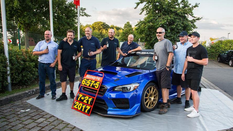 Vídeo - Subaru WRX STI NBR, así fue la vuelta rápida a Nürburgring