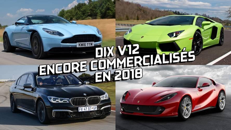 DIAPORAMA - Dix V12 encore commercialisés en 2018