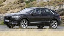 Audi Q8, le foto spia