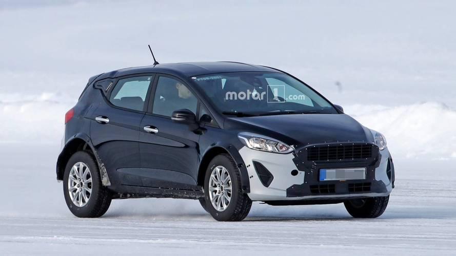 Ford Fiesta test aracı