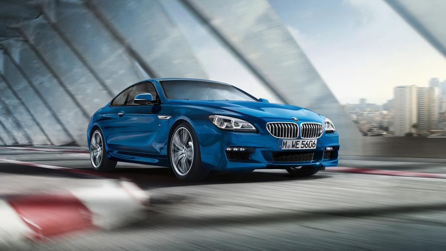 Petite mise à jour pour la BMW Série 6