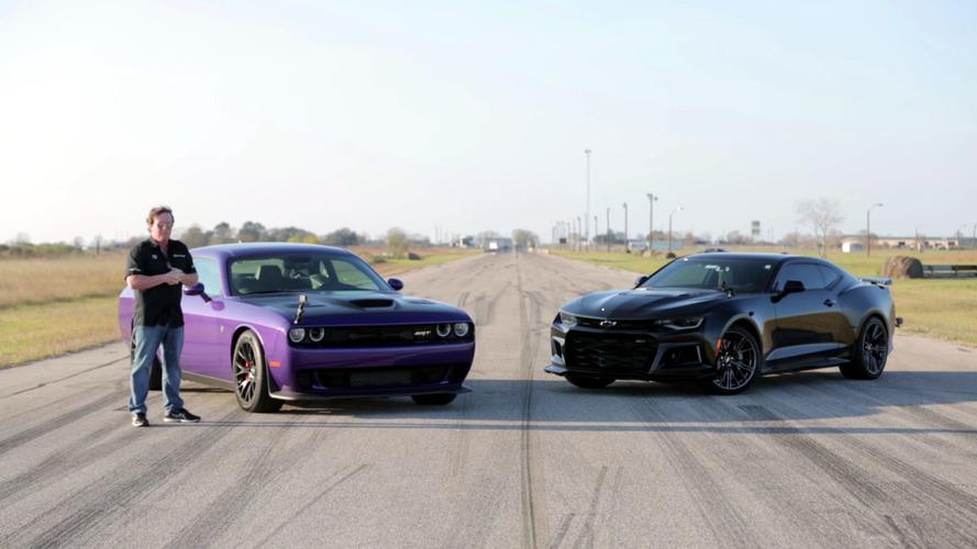 Hellcat Challenger, Camaro ZL1'a karşı