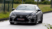 Lexus RC F Refresh Spy Photos