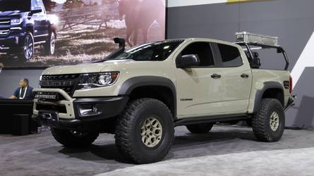 Chevrolet Colorado ZR2 Concepts Offer Even More Capability