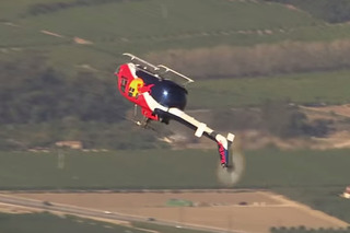 Red Bull Aerobatic Copter Defies Physics! [video]