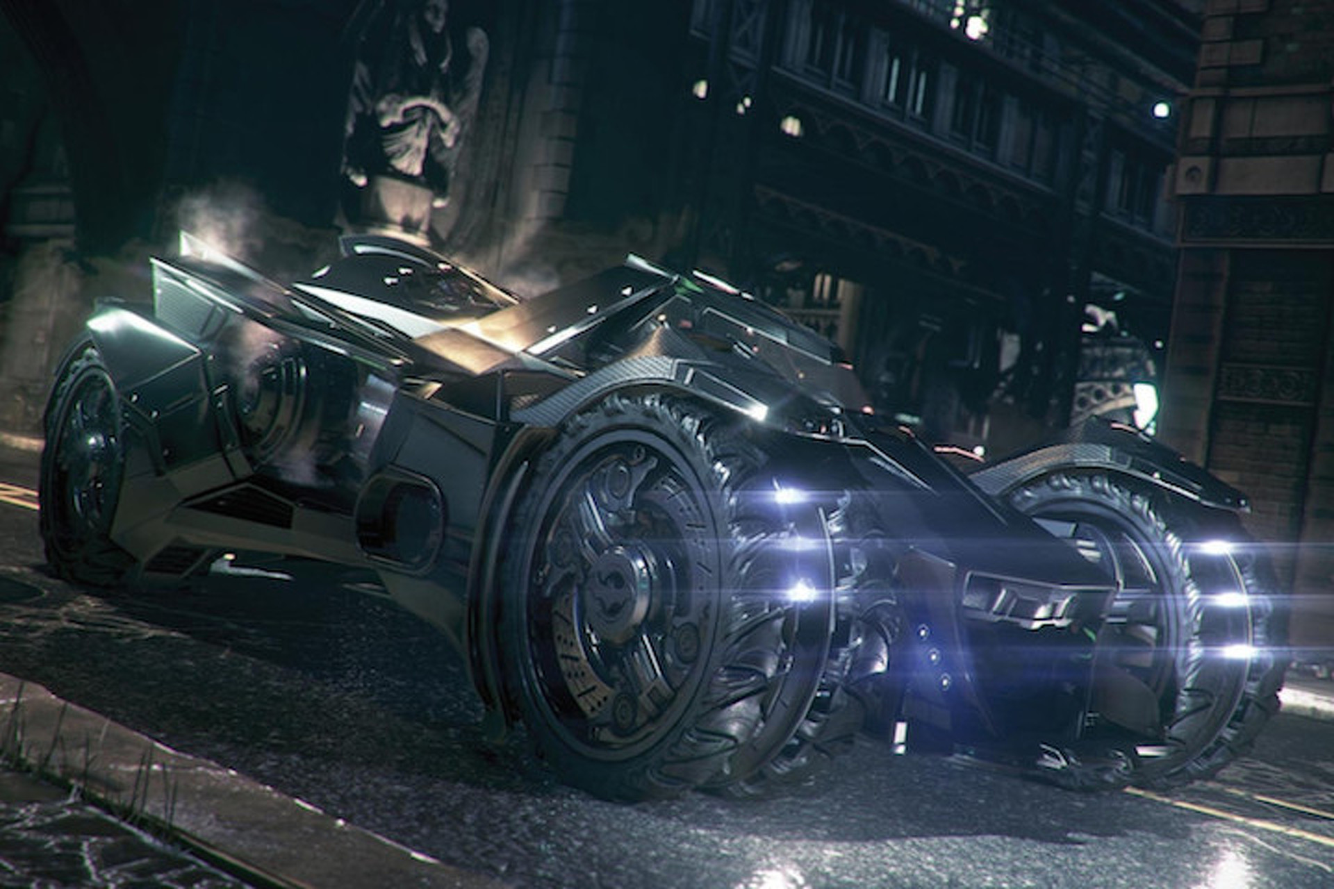 Batman's New Virtual Batmobile Is Insane [Video]