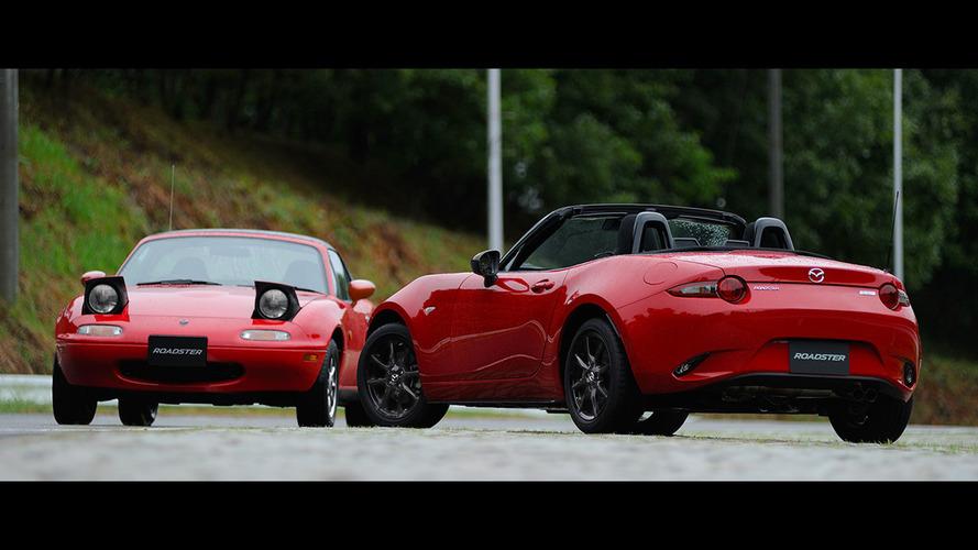 Mazda'nın havalı Miata'ları Tokyo için hazır