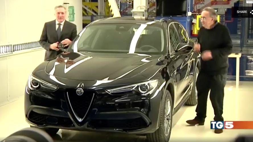 Alfa Romeo Stelvio'nun normal versiyonu TV'ye çıktı