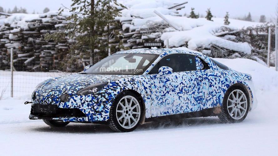 Flagra! - Alpine A120, o Interlagos moderno, aparece em testes em frio intenso