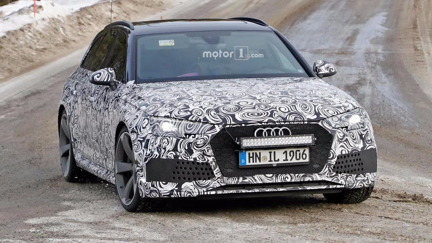 Audi, RS4 Avant üzerinde çalışmayı sürdürüyor