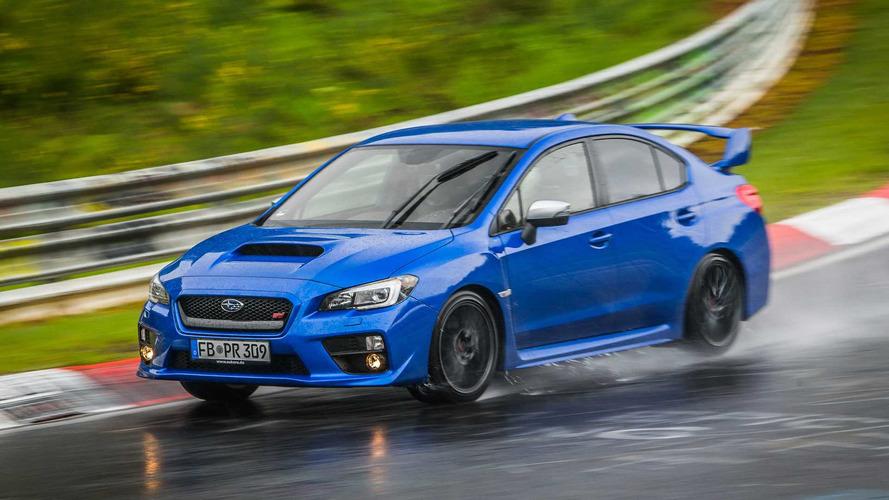 Özel İçerik: Subaru WRX STi ile Nürburgring'i yağmurda turlamak