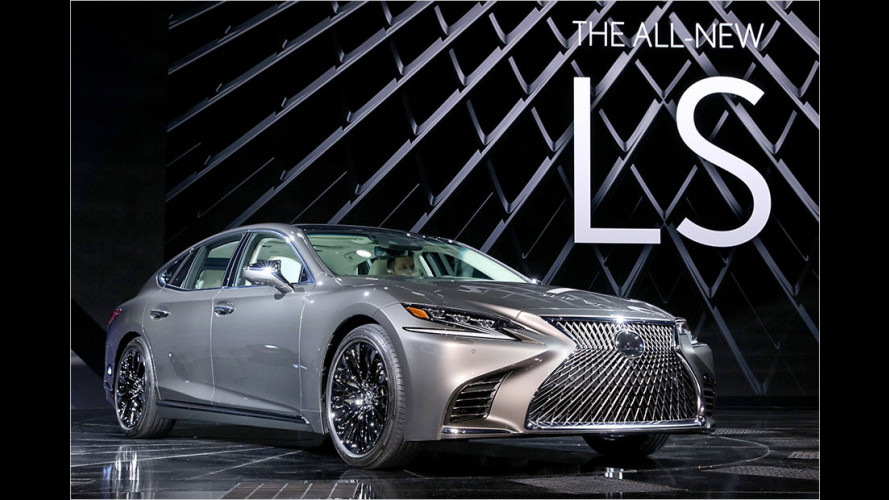 Detroit 2017: So kommt der neue Lexus LS