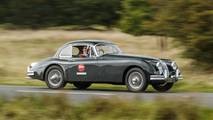 Jaguar XK150 Jaguar Land Rover Classic Drive Eastnor Castle