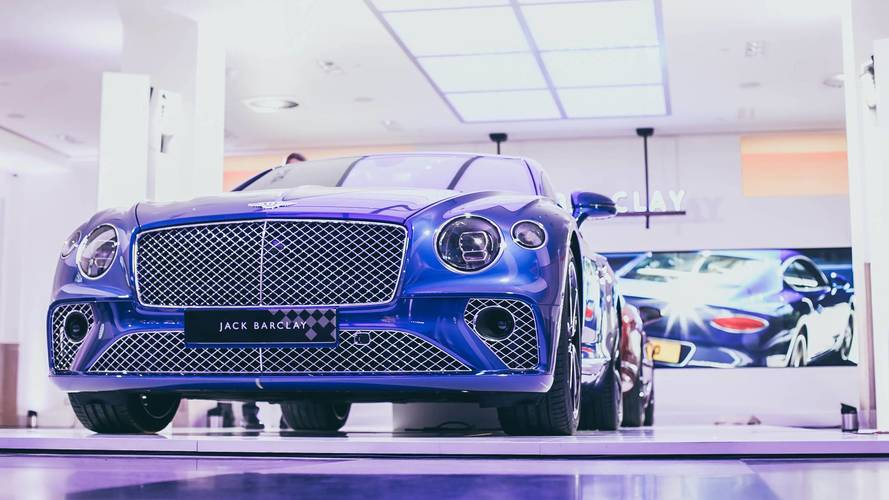 Bentley Continental GT arrives at UK dealer –yours from £154,000