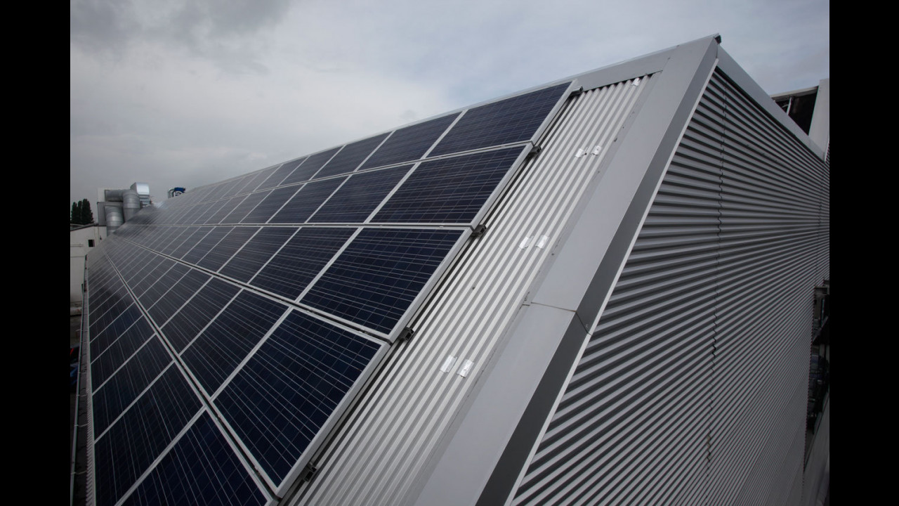 Lamborghini - impianto fotovoltaico