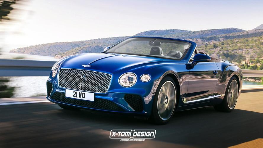 Bentley Continental GTC tasarım yorumu son derece makul