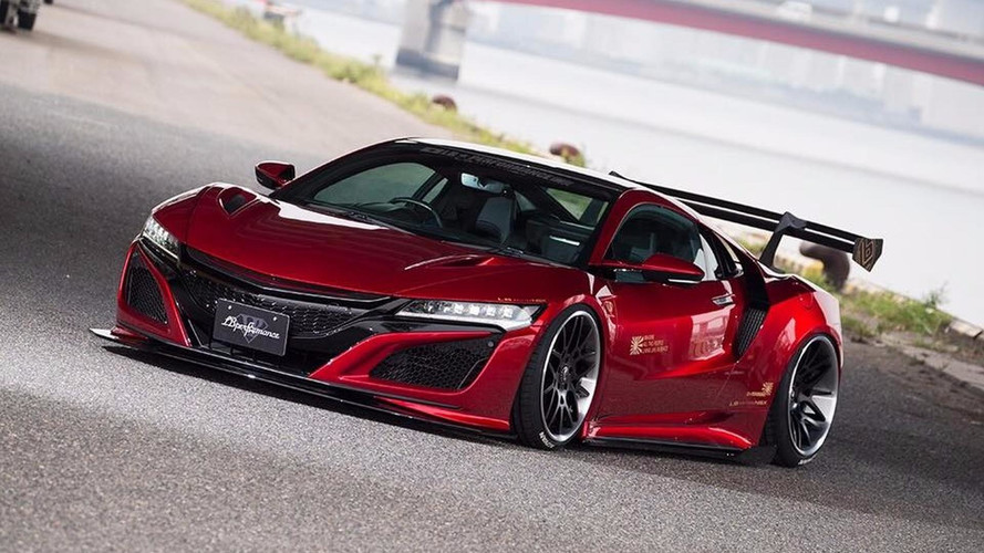 More Subdued Liberty Walk Acura NSX Body Kit Includes Big Wing