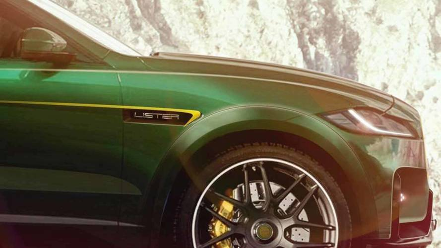 Lister Teases Tuned Jaguar F-Pace As World's Fastest SUV
