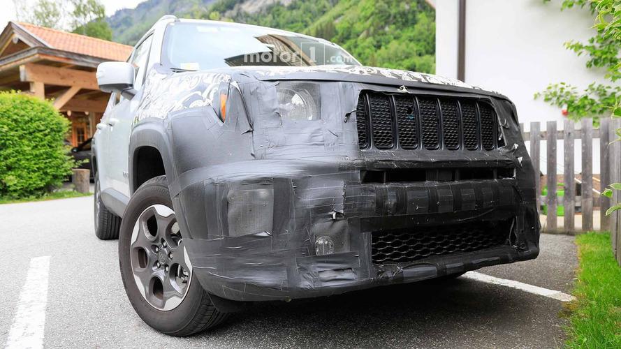 Jeep Renegade restylé photos espion