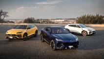 Lamborghini Urus a Roma