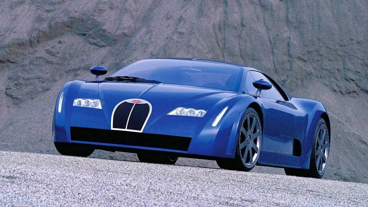 1999 Bugatti EB 18/3 Chiron concept