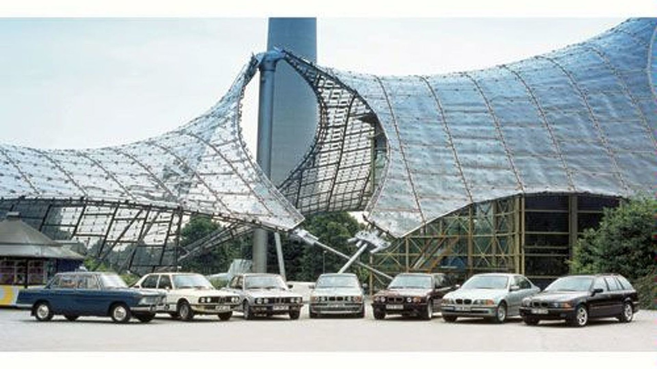 50 years of BMW 5 Series