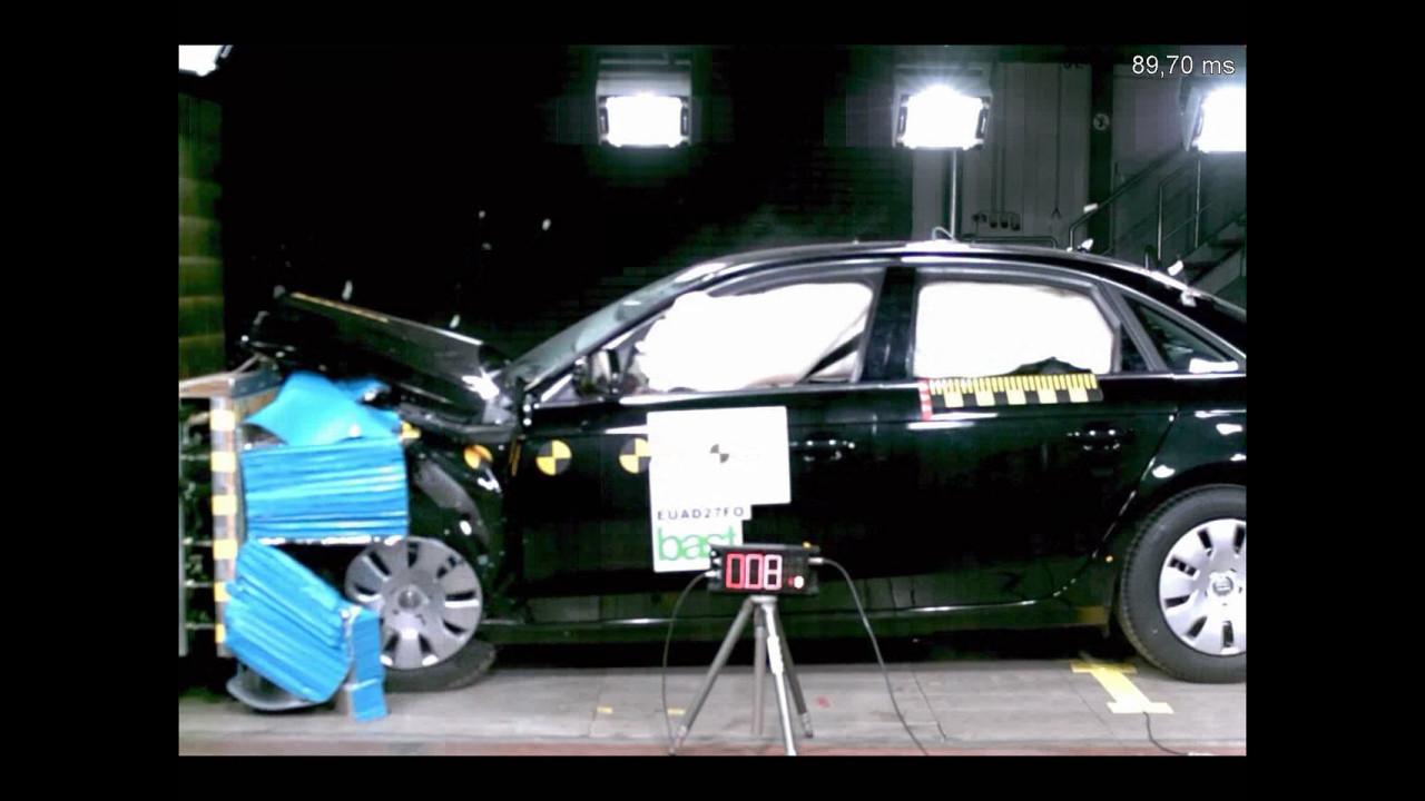 Crash Test su Audi A4