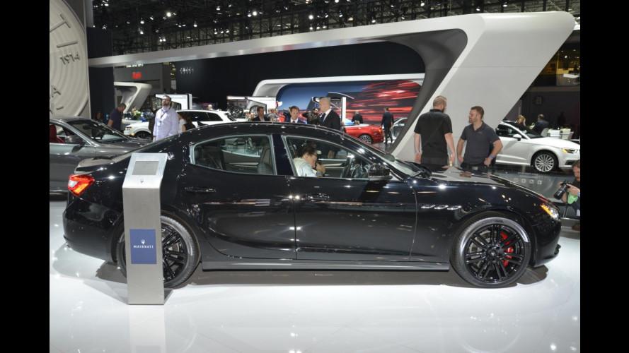 Maserati Ghibli, look Nerissimo per il Salone di New York