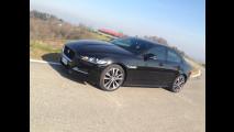 Jaguar XE 20d 180 CV automatica, test di consumo reale Roma-Forlì