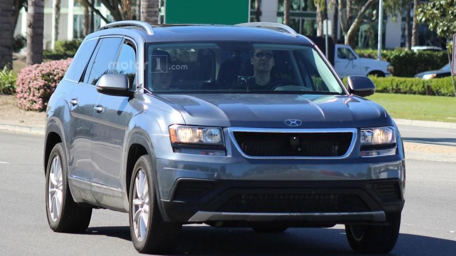 VW CrossBlue prototipi Kaliforniya'da görüntlendi