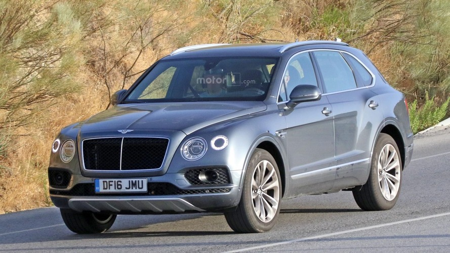Le Bentley Bentayga diesel repéré par nos photographes