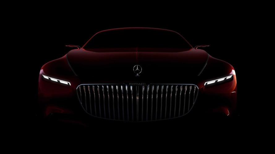 Vision Mercedes-Maybach 6'nın önü gösterildi
