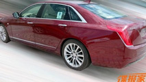 Cherry red Cadillac CT6